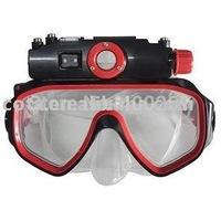 New Arrival&Hot 720*480P 15m Waterproof Scuba Video Camera Mask ADK-S707