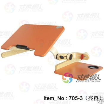 Wooden Folding Laptop All purpose table notebook Bed Desk Stand  cup holder mouse terrace-7053