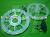 F00206-S,   F-HS1220-01-B White Main Gear Set for ALIGN TREX T-REX 450 SPORT PRO V2  + Free shipping