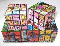 100 pcs Cartoon Cube 5.5x5.5x5.5 Puzzle +free shipping