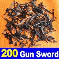 Lot 200 X Weapon  Sword For GI JOE DRGON Figure