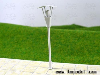 mdoel lamp, T23 lamppost for train layout
