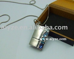 Jewellery 4GB USB Flash memory +Gift box+free shipping(China (Mainland))