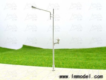 model lamp, T30 lamppost for train layout HO scale