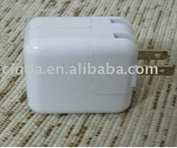 free shipping&USB charger for iPad, USB travel charger for iPad,EU&US&UK plus