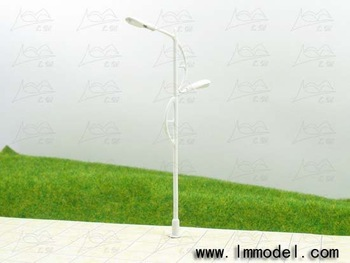 HO 10pcs mdoel lamp, T65 lamppost for train layout HO scale, good quality copper lamp