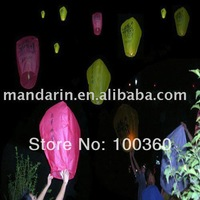sky lanterns with 300pcs in one carton,with red/blue/green/pink/peach red/purple/yellow/orange/white & sea blue colors
