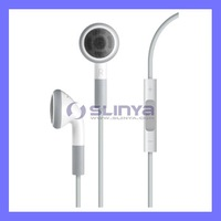 For iphone 4S 4G 3GS ipod Earphone with mic volume control for iPod iPad