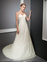 Free shipping good fashion bride wedding dress/good wedding dress/party dress/new wedding dress