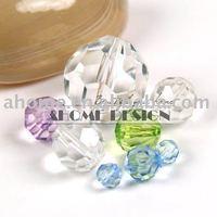 160pcs18mm Acrylic Beads / Diamond Bead / ball facets beads
