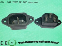 C14 Inlet outlet CCC,CE,VDE approve