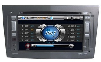 Opel Astra,Vectra,SUV Antara car dvd player with gps navigation radio system