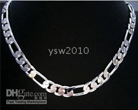Men's 925 Sterling Silver Necklace Chain 8mm 20inch