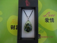 child jewelry luminous pendant necklace real insect amber pendant christmas gift free shipping