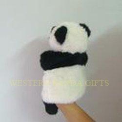 panda hand doll