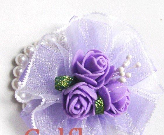 Home Charming Red Rhinestones Wedding Bridal Wreath Headpiece