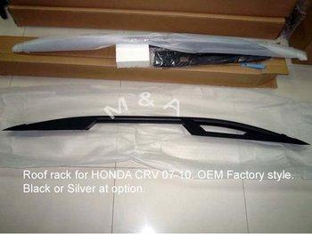 Luggage rack for HONDA CRV 2007-2010. OEM factory style.Aluminum. Black & Silver.