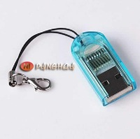 USB 2.0 for MicroSD T-Flash TF Memory Card Reader Reader ornaments FREESHIPPING by Post