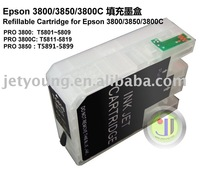 JETYOUNG Refillable Cartridge with Auto-reset Chip for 3800C 3850 3800 inkjet printers