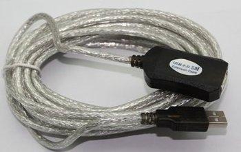 Wholesale--10pcs 16 Ft 5M Male to Female Active USB 2.0 Extension Cable