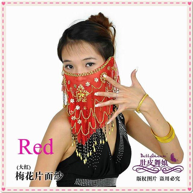 30 pçs/lote barriga grátis frete dança acessório / barriga dança rosto véu / dança do ventre pulseira / dança do ventre desgaste da cabeça(China (Mainland))