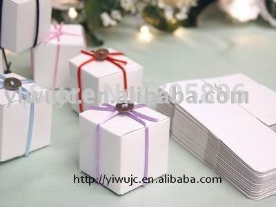 FREE SHIPPING-- 5x5cm Wedding Sqaure Favor Boxe/Candy box (JCO-158)(China (Mainland))
