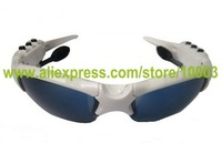 Free shipping by HK post sunglasses MP3 with bluetooth & 2GB Memory/MP3 and bluetooth sunglasses