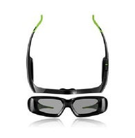 Free Shipping Wireless Active Shutter 3D Monitor ,3D Vision Glasses Kit NVIDIA GeForce 3D Stereo Glasses