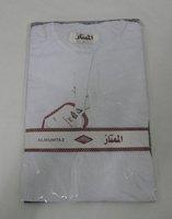Men's white robe Free Shipping muslim abaya for 2010~2011 M020