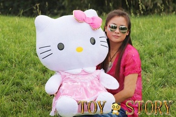 75cm hello kitty plush toy ,doll, plush toy,free shipping