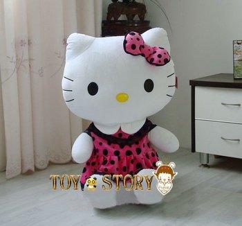 75cm hello kitty plush toy ,doll, plush toy free shipping