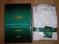 White men abaya Free Shipping muslim abaya for 2010~2011 M048