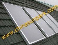 2.0sqm+CUCFP+2pcs/carton  solar water heater panel