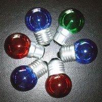 G40 LED Ball Bulb;AC120V/220V input;0.5W;E27 base;40*62mm;12pcs led;glass housing