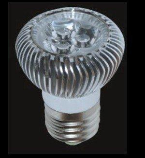 3*1W E27 LED spotlight;dia 50*65mm;90lm/w;warm white color