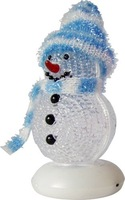 60% discount via UPS 7 colors led light USB Snow Man ,USB gift ,Christmas gift,100 pcs