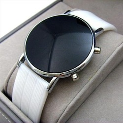 wholesale COOL New LED Fun Style Mens Ladies Digital Watch White fashion(China (Mainland))