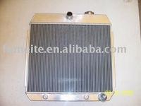 Chev 1955-1957 AT/MT 64mm 3 core Aluminum Radiator
