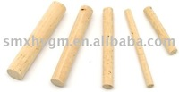 CYLINDER OF WHITENED CORK D9mmxL60mm(BAG OF 10 PCS.)