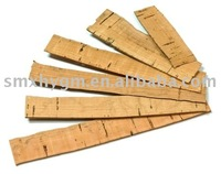 CROSS GRAIN CORK STRIP (10 GRAMS BAG) thickness 0.4mm/0.8mm/1.0mm