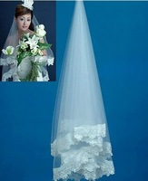 2010 collection pretty wedding veil Beautiful and charming bridal veil  AKV06
