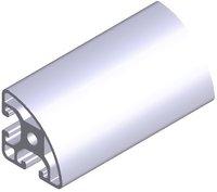 6pcs L1000mm for aluminium profiles P8 40 X R40 X 90S  L