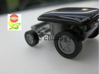 Free shipping 25pcs/lot Mini solar toy car, most fun for gift, very good for teach, education