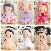 New Cute Mini doll , Mini ddgirl series,6 dolls/pakage, Happy Halloween ,Merry Christmas' gift,toy for kids.