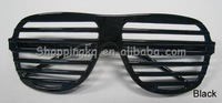 Fashion Hip Hop Black Shutter Shades Party Glasses Eyewear