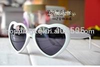 Trendy Party UV Protection Heart Shape Sunglasses Love Sunglasses