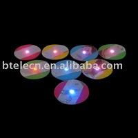 led sticker coaster,thinest led coaster,different shape