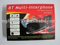 Motorcycle Helmet Bluetooth Headset - 500m BT multi-interphone