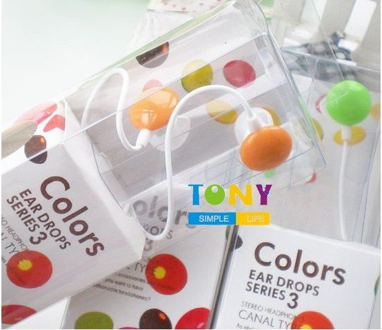 wholesale price cute chocolate candy bean earplug earphone 30pcs(China (Mainland))