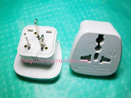 NEW Australia adaptor plug with safety shutter(China (Mainland))
